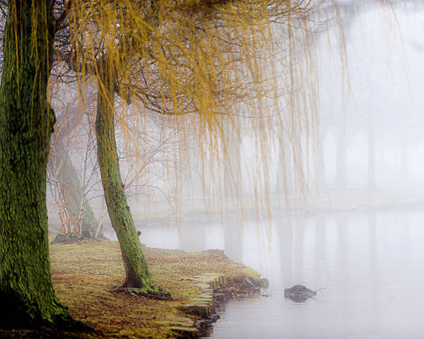Babylon Photograph - Foggy Morning At Argyle Lake by Vicki Jauron, Babylon And Beyond Photography