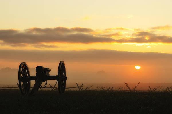 Foggy Morning Battlefield Art Print