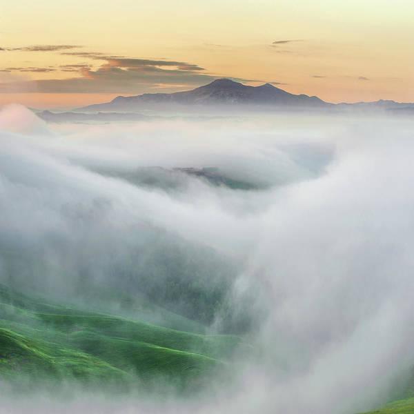 Wall Art - Photograph - Foggy Morning by Jarek Pawlak