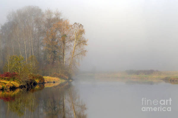 Alouette Wall Art - Photograph - Foggy Morning On The North Alouette by Sharon Talson