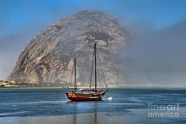 Photograph - Foggy Morrow Bay by Adam Jewell