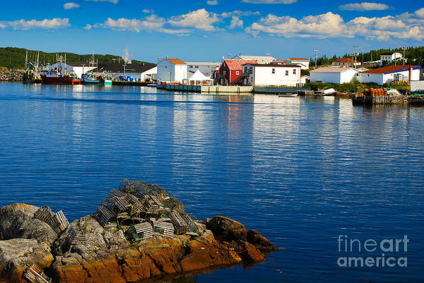 Photograph - Fogo Island In Newfoundland by Les Palenik