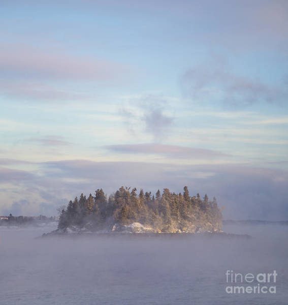 Northern Maine Wall Art - Photograph - Fogscape by Evelina Kremsdorf