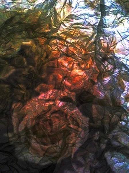 Mixed Media - Foil Roses by Dennis Buckman