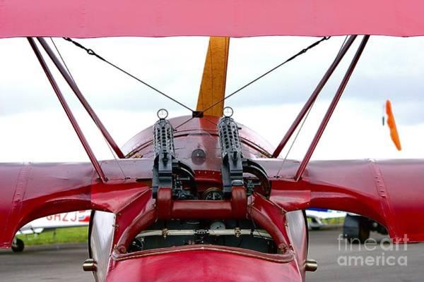 Photograph - Fokker Cockpit View by Jeremy Hayden