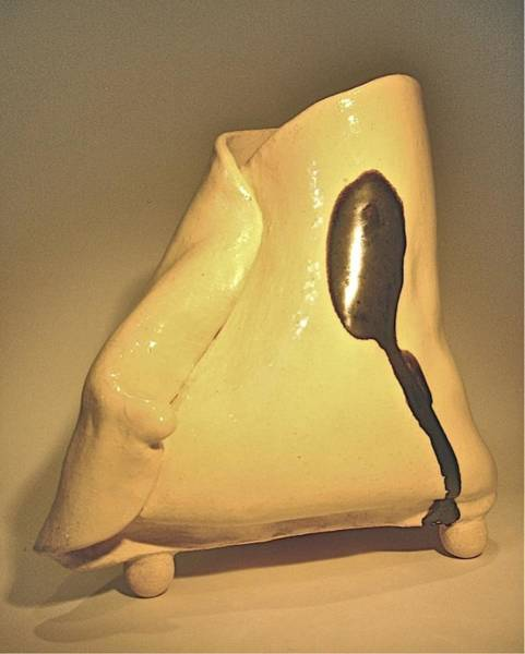 Sculpture - Folded #1 by Mario MJ Perron