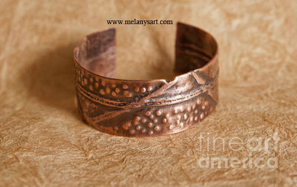 Jewelry - Folded Copper Cuff by Melany Sarafis