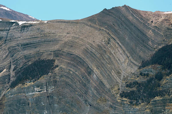 Wall Art - Photograph - Folded Rock Strata by Dr P. Marazzi/science Photo Library