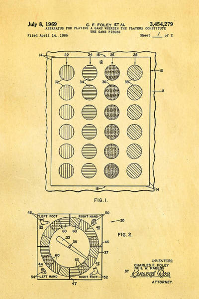 Household Photograph - Foley Twister Patent Art 1969 by Ian Monk