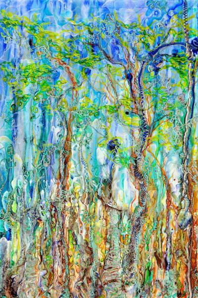 Painting - Foliage Melody by Regina Valluzzi