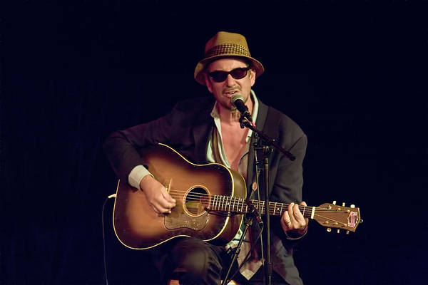 Photograph - Folk Singer Greg Brown by Randall Nyhof