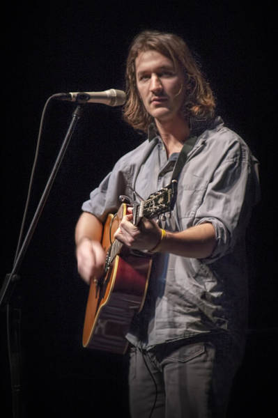 Photograph - Folk Singer Griffen House by Randall Nyhof