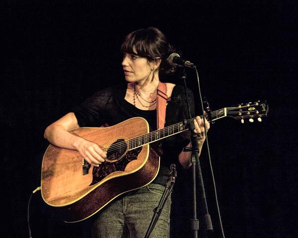 Photograph - Folk Singer Pieta Brown by Randall Nyhof