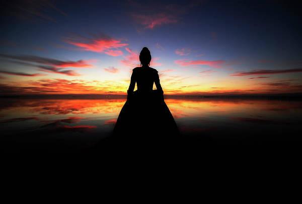 Dancing Water Photograph - Folk Woman by Manuel Orero Galan
