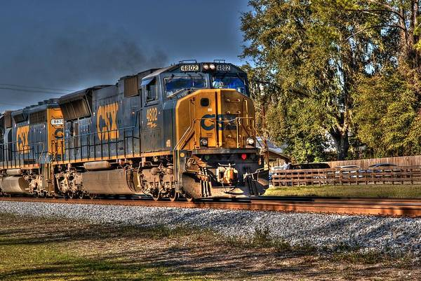 Photograph - Folkston Csx 01 by Donald Williams