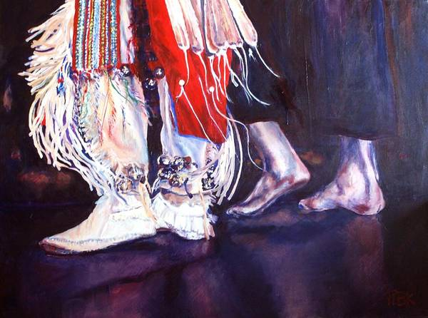 Follow Me Painting - Follow Me by Patty Kingsley