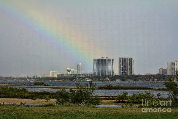 Port Orange Photograph - Follow That Rainbow by Deborah Benoit