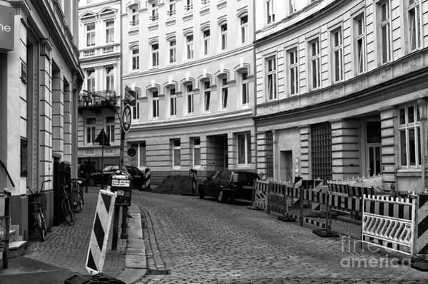 Photograph - Follow The Curves In Hamburg Mono by John Rizzuto