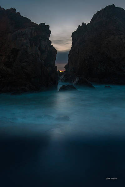 Wall Art - Photograph - Follow The Light.... Big Sur by Tim Bryan