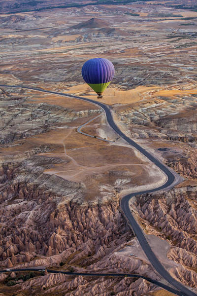 Air Balloon Wall Art - Photograph - Follow The Path by Gunarto Song