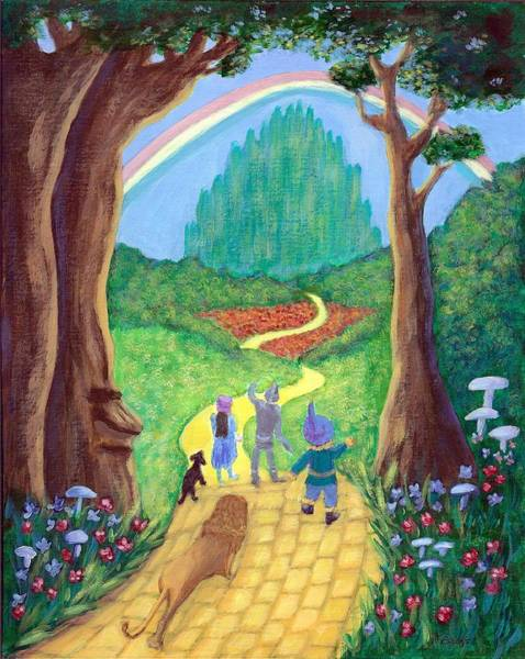 Painting - Follow Your Dreams by Fran Brooks