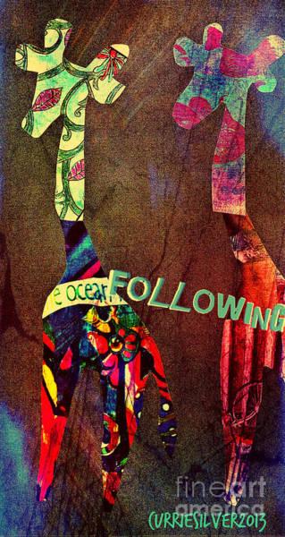 Digital Art - Following by Currie Silver