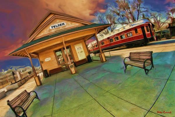 Photograph - Folson Railroad Depot by Blake Richards