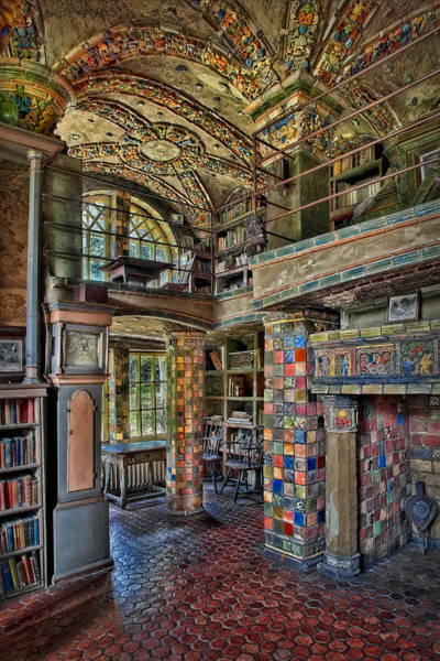 Photograph - Fonthill Castle Library Room by Susan Candelario