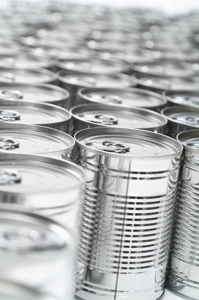 Wall Art - Photograph - Food Cans by Uk Crown Copyright Courtesy Of Fera/science Photo Library