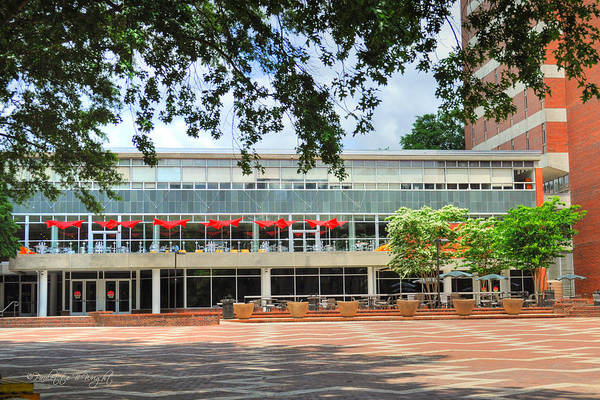 Nc State Wall Art - Photograph - Food Court - Nc State Main Campus by Paulette B Wright