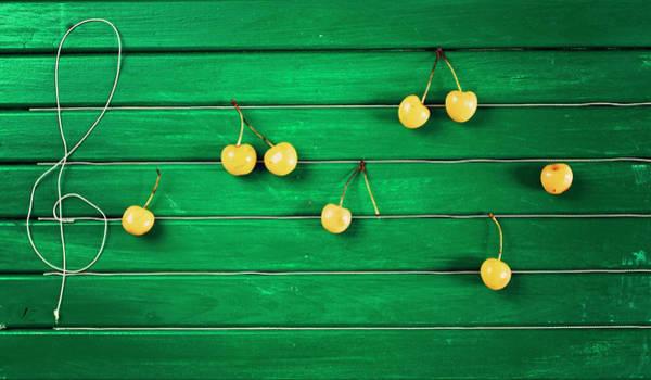 Wall Art - Photograph - Food Music by Luluto.blogspot.com
