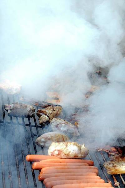Wall Art - Photograph - Food On A Barbecue by Aj Photo/science Photo Library