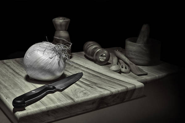 Wall Art - Photograph - Food Prep Still Life by Tom Mc Nemar