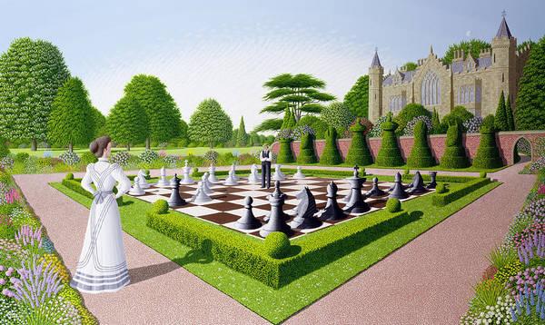 Castle Garden Photograph - Fools Mate by Peter Szumowski