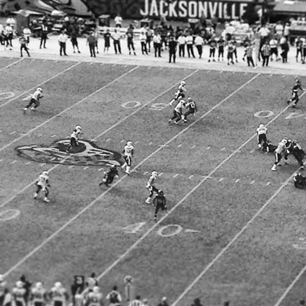 Jaguar Photograph - Jacksonville Football by Brandon McKenzie
