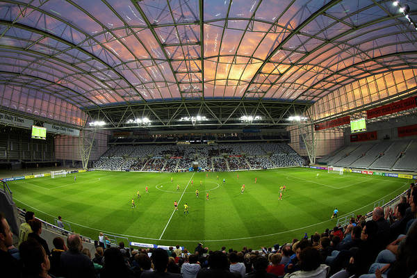 Forsyth Photograph - Football Game, Forsyth Barr Stadium by David Wall