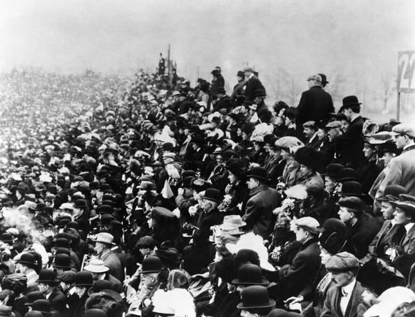 Wall Art - Photograph - Football Stadium, 1907 by Granger