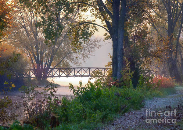 Photograph - Footbridge II by Kari Yearous