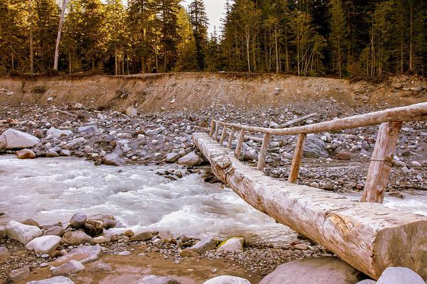Photograph - Footbridge by John M Bailey