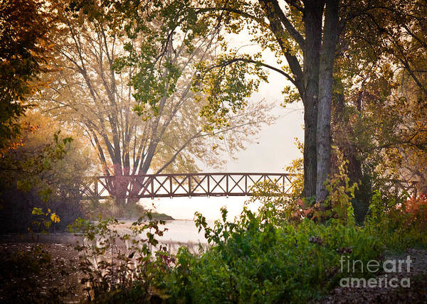Photograph - Footbridge by Kari Yearous