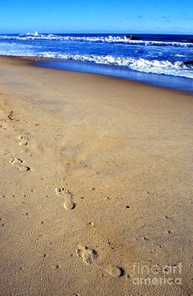 Photograph - Footprints In Sand by Thomas R Fletcher