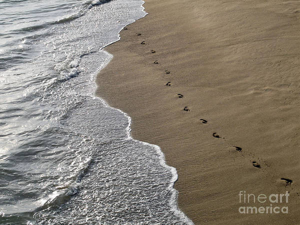 Photograph - Footprints by Kelly Holm