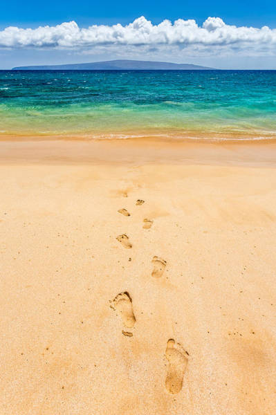 Photograph - Footprints Leading To Paradise by Pierre Leclerc Photography
