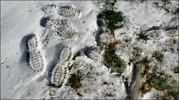Photograph - Footprintscomp2 2009 by Glenn Bautista