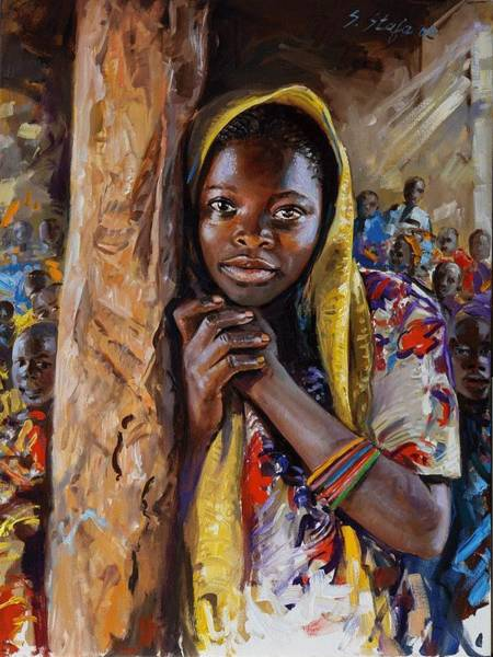 Painting - For A Better Life by Sefedin Stafa