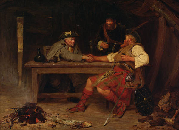 Sword Painting - For Better Or Worse - Rob Roy by John Watson Nicol