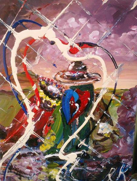 Painting - For Love's Sake by Ray Khalife