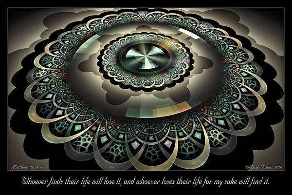 Digital Art - For My Sake by Missy Gainer