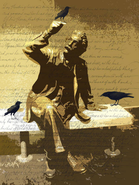 Einstein Wall Art - Photograph - For The Birds by Nancy Merkle