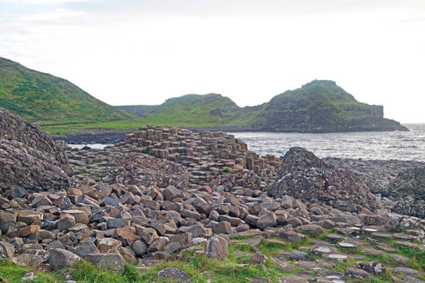 Basalt Photograph - For The Cause -- Giant's Causeway -- Ireland by Betsy Knapp